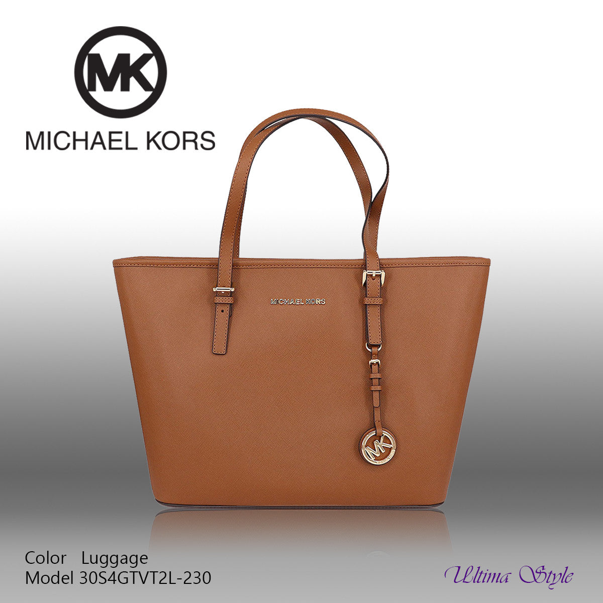Michael Kors Jet Set Travel Top-Zip Tote – Ultima Style 251c9f23fcf