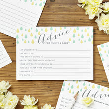 Baby Shower Advice Cards Pack Of Eight