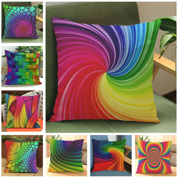 Modern  Colorful Square Cushion Pillow 45*45cm