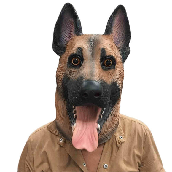 Full Face Adult Breathable Dog Mask