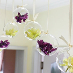 Tiny Hot Flower  Hanging Vase
