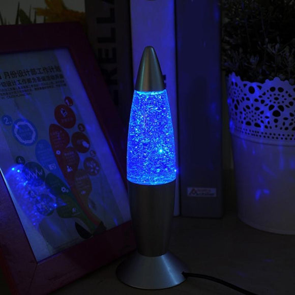 3D Rocket Multi Color Changing Night  Lamp