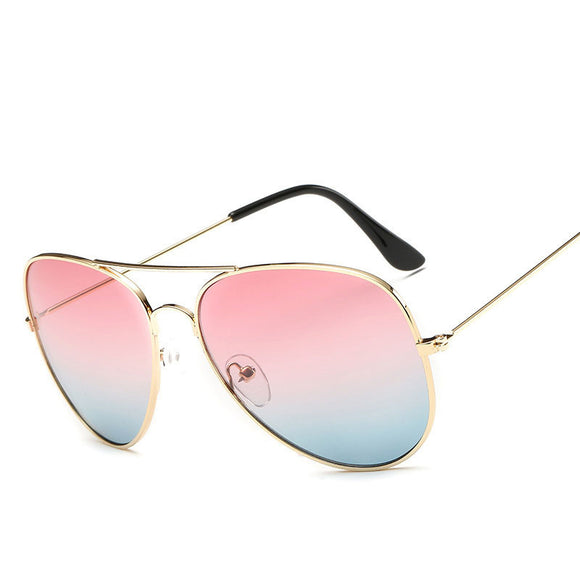 Women Gradient Summer Trends Sunglass
