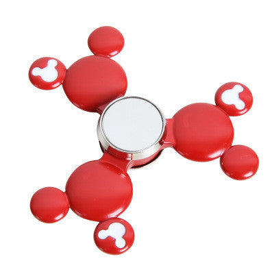 Red Color Metal Spinner