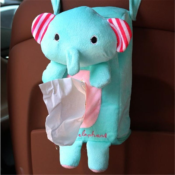 Back Seat Hanging Cartoon Paper Napkin Holder