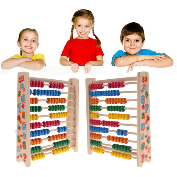 Small Abacus Colorful Computing Frame Math Toy