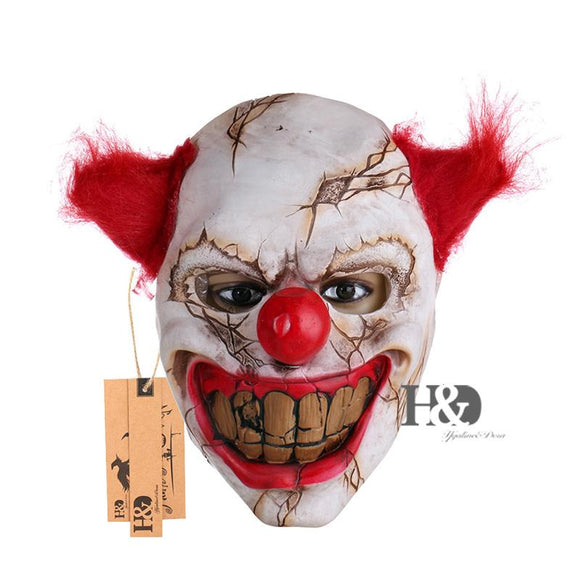 Scary Clown Latex Mask