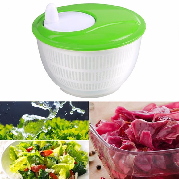 Quick & Easy Salad Spinner(4.5L)