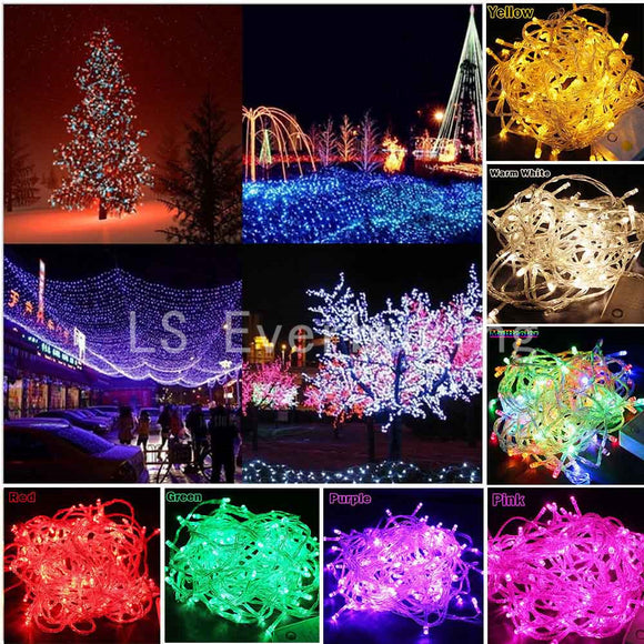 100LEDs 8 modes LED String Light Christmas Light for Wedding Party, Holiday Decoration
