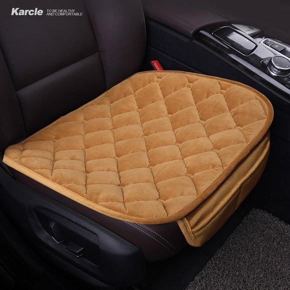 1PCS Plush Car-styling Breathable Seat Cover