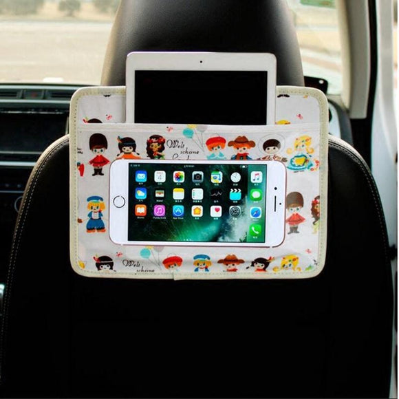 Portable Hand Free Cartoon Back Seat Ipad/Iphone Holder