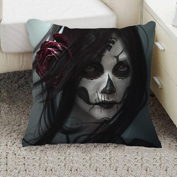 Skull Cushions Cover Home Decor