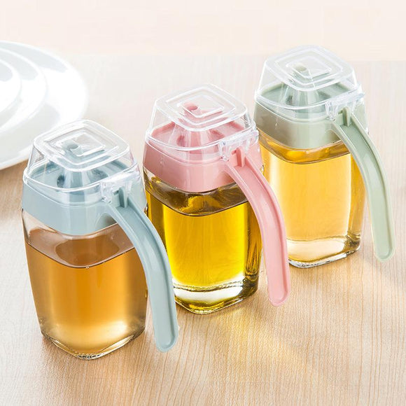 Leakproof Oil Glass Jug (350ML)