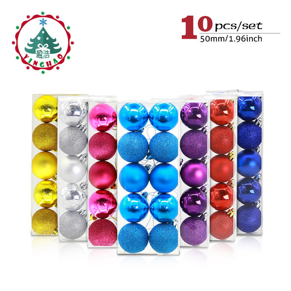 Colorful 5cm Christmas Balls