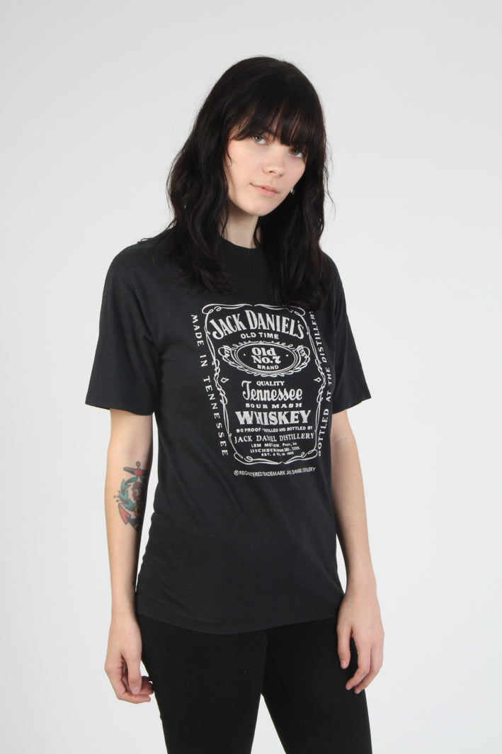 Vintage 1980s Jack Daniels T Shirt - Kelly Cole USA