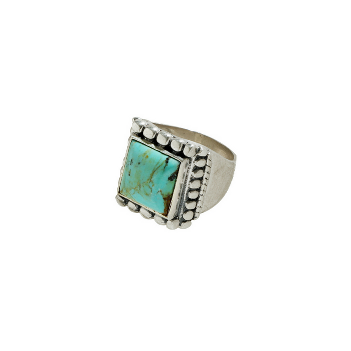 Women's Turquoise Marquee Ring Size 7