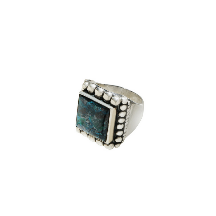 Kelly Cole Men's Turquoise Marquee Ring Size 9