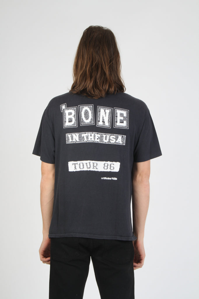 Vintage Fishbone 1986 Bone In The USA Tour T Shirt