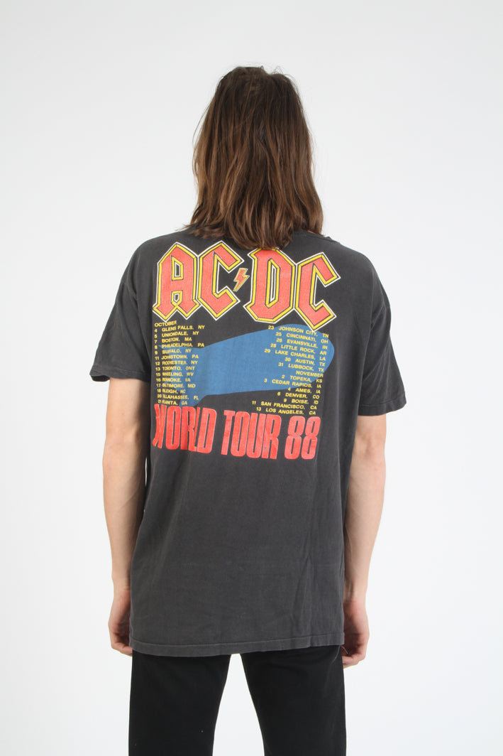 Vintage AC/DC Blow Up Your Video 1988 Tour Shirt - Kelly Cole USA