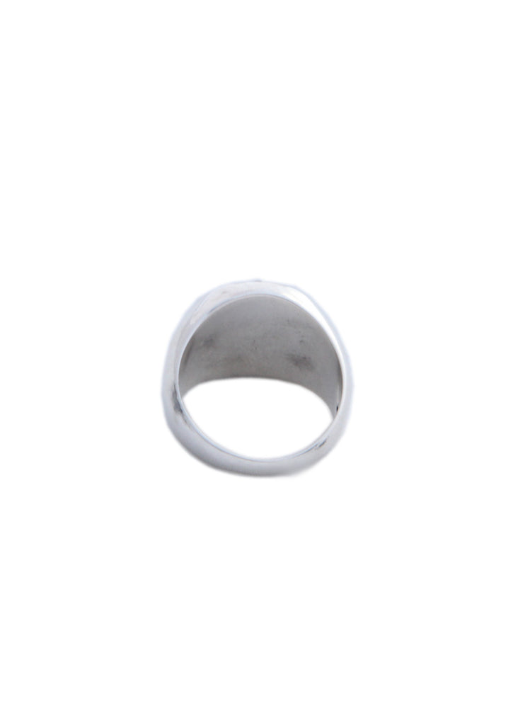Plain Circular Signet Ring