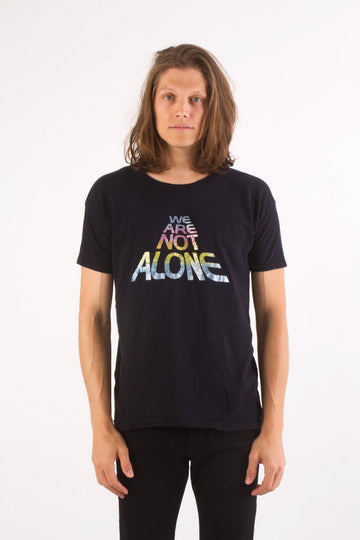 1970s WE ARE NOT ALONE T-Shirt