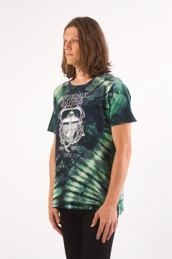1980s Vintage PSYCHEDELIC SOLUTION NYC Head shop T-Shirt