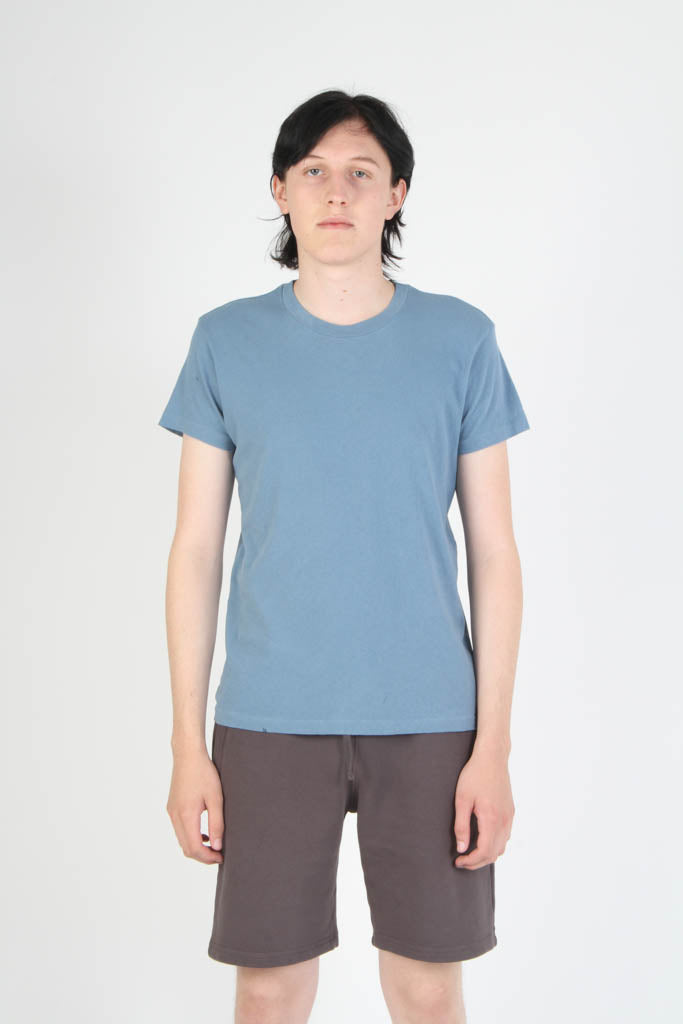 Kelly Cole Signature Short Sleeved Crewneck T Shirt - Light Blue