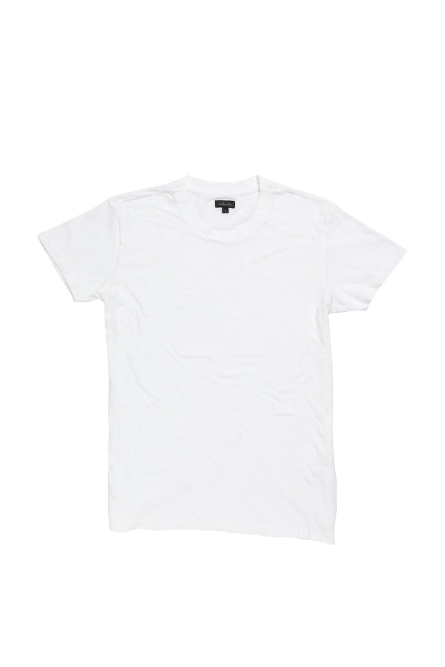 Kelly Cole Signature Short Sleeved Crewneck T Shirt - Optic White