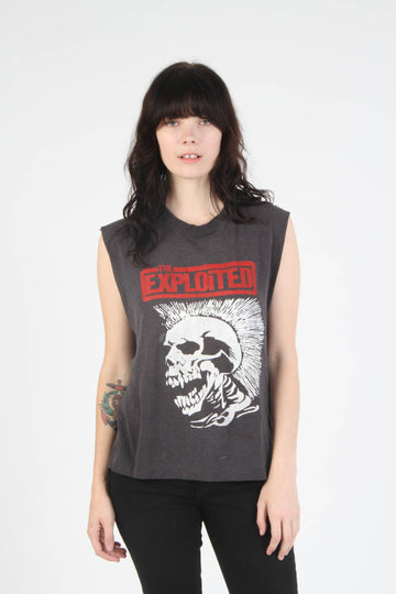 Vintage 1980s The Exploited T Shirt