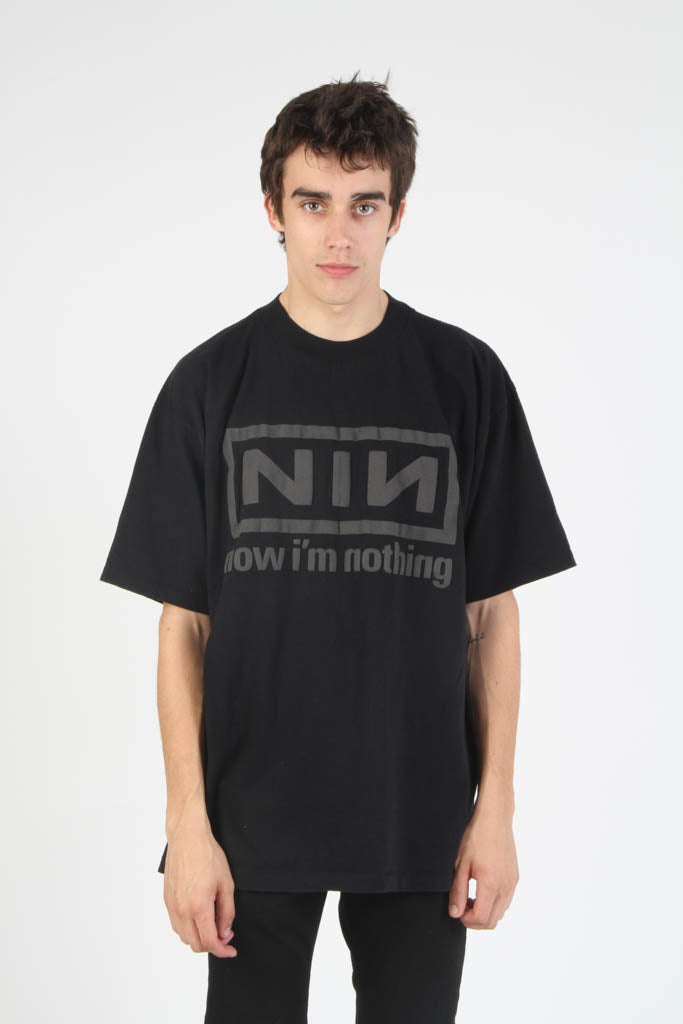 Vintage 1992 Nine Inch Nails Concert Tour T Shirt