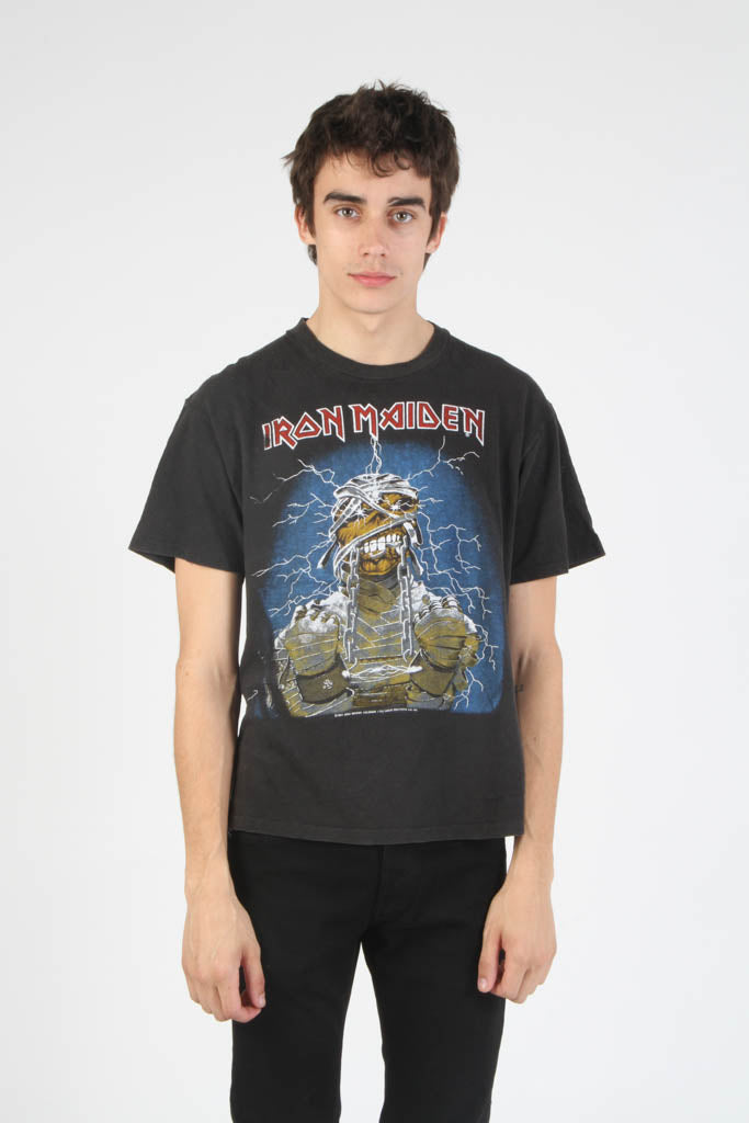 Vintage 1984 Iron Maiden Concert Tour T Shirt