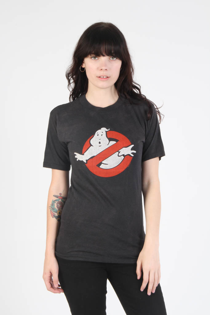 Vintage 1980s Ghostbusters Logo Promo T Shirt