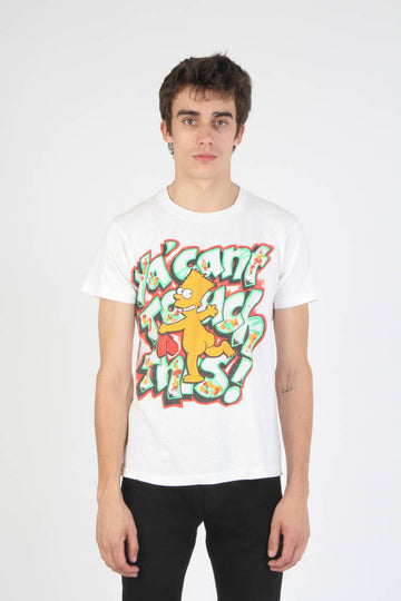 Vintage 1990s Naked Bart Simpson U Can't Touch This! T Shirt