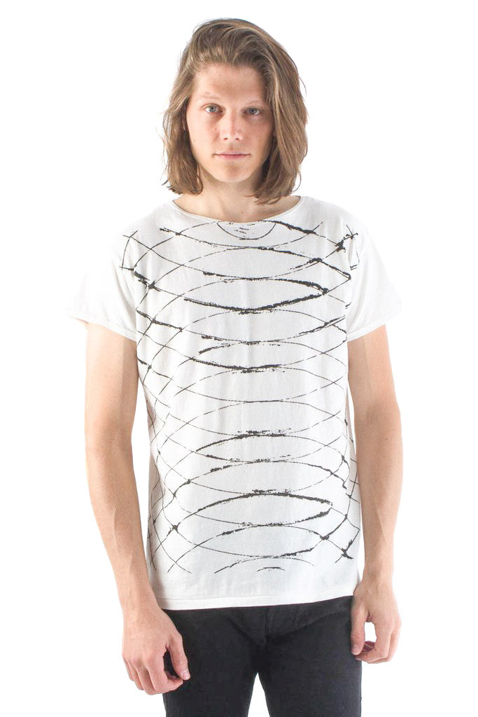 Kelly Cole Sound Waves Graphic T Shirt