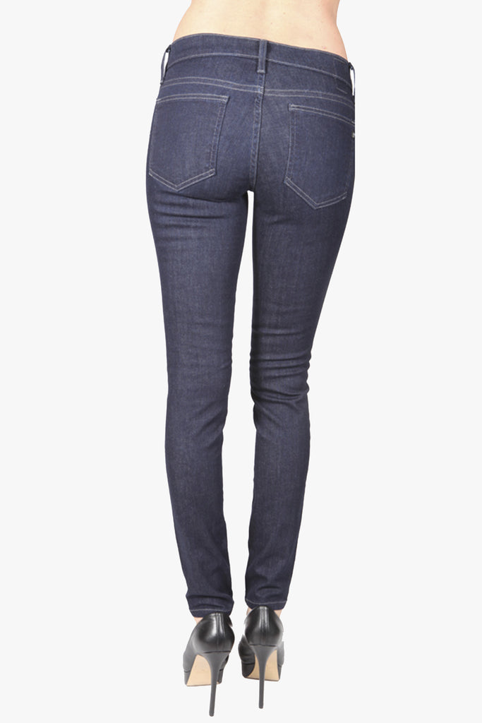 Women's Rinsed Blue Skinny Denim