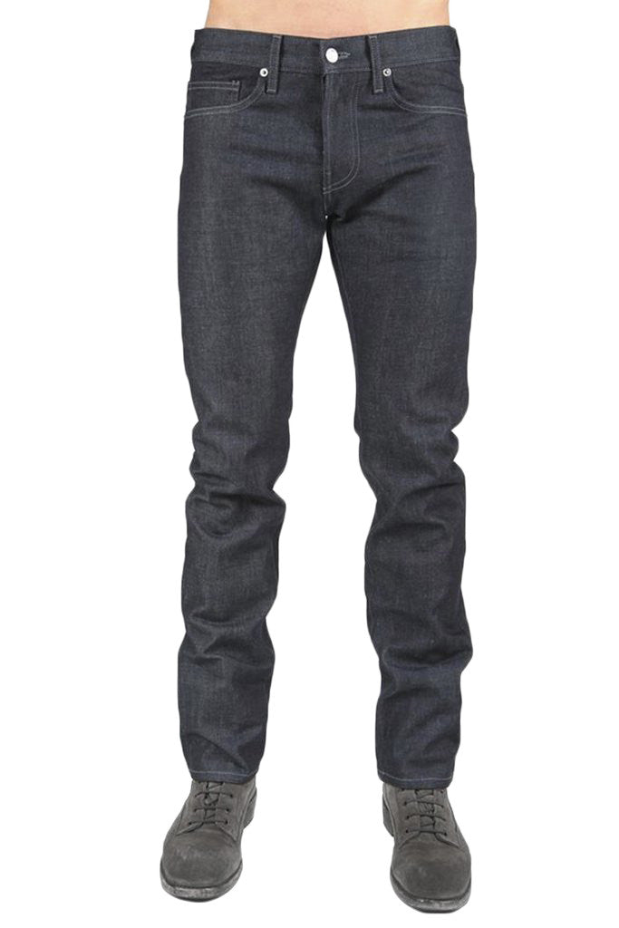 Men's Raw Slim Straight Denim