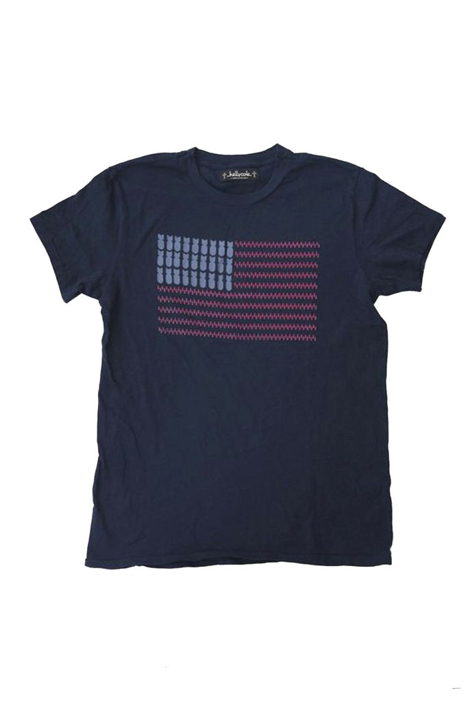 """Old Glory"" Graphic Signature Crew Neck T Shirt"