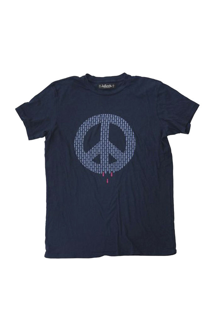 """Peace Sells"" Graphic Signature Crew Neck T Shirt"