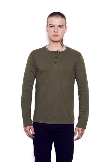 Kelly Cole Men's Henley - Kelly Cole USA