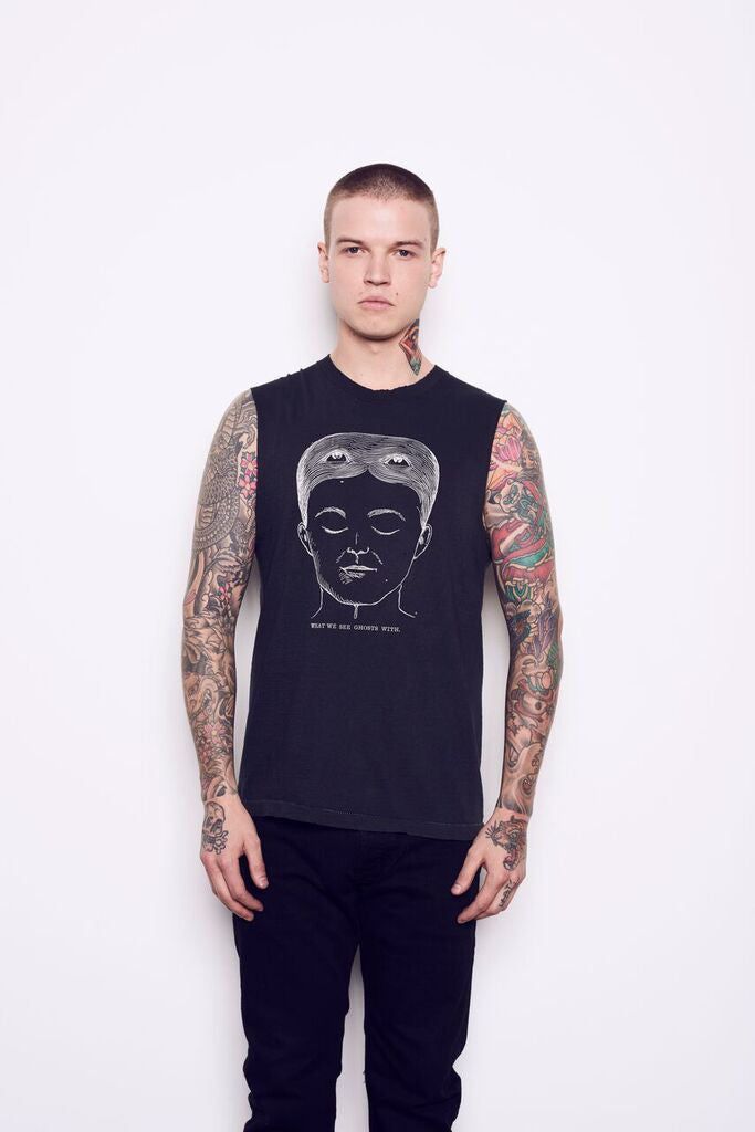 "Kelly Cole Unisex Limited Edition Graphic ""We See Ghosts"" T-Shirt"