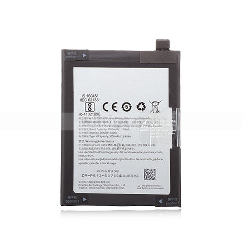 OnePlus 3 Battery Replacement BLP613 Fix - MifanGo.com
