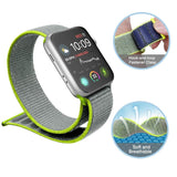 Mifan Official Nylon Loop Band for Apple Watch 40mm/38mm Series 1/2/3/4/5 Green Grey - MifanGo.com