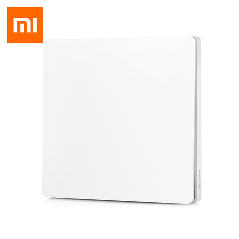 Aqara Smart Light Control Fire Wire and Zero Line Single Key Version ( Xiaomi Ecosystem Product ) - MifanGo.com