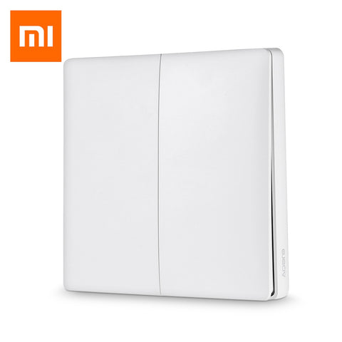 Aqara Smart Light Control Fire Wire and Zero Line Double Key Version ( Xiaomi Ecosystem Product ) - MifanGo.com