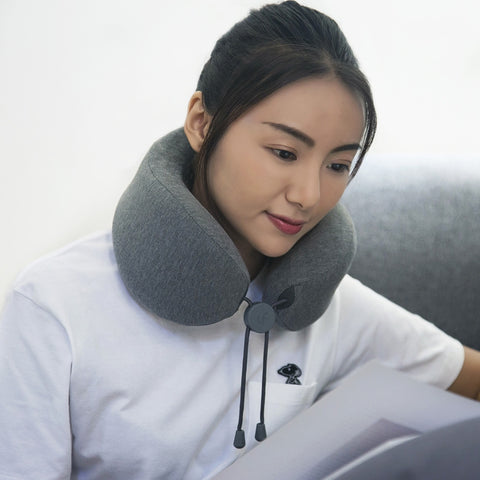 LERAVAN Multi-function U-shaped Massage Neck Pillow for Home / Office / Travel from Xiaomi Mijia - MifanGo.com