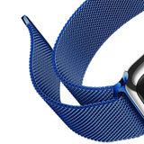 Mifan Official Milanese Loop Band for Apple Watch 44mm/42mm Series 1/2/3/4/5 Blue - MifanGo.com