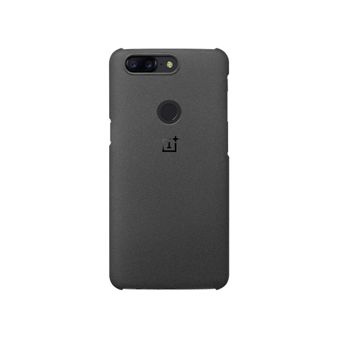 Original OnePlus 5 5T Protective Back Cover Sandstone - MifanGo.com