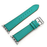 Premium Genuine Leather Band for Apple Watch 44mm/42mm Supreme Green - MifanGo.com