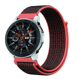 Mifan Nylon Loop Band 22mm Width Black Red for Samsung/Huawei Garmin/Fossil - MifanGo.com