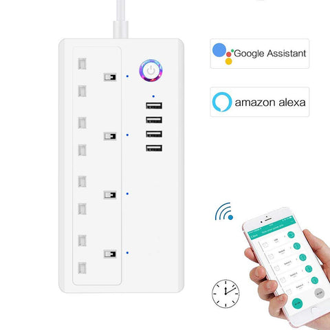 Smart Wifi Plug Socket iOS Android App Remote Control Works with Amazo